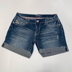 Amethyst Cuff Jean Shorts